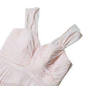 Dessy Collection BlushPlus Size Chiffon Maxi Dress